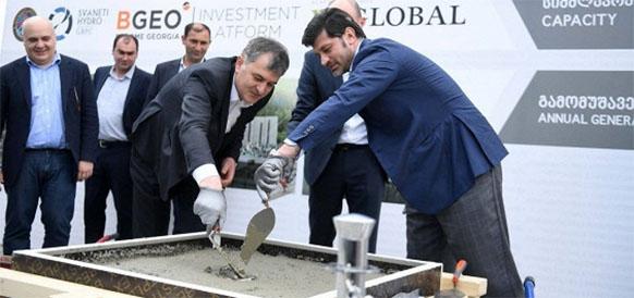 В Грузии началось строительство 2 малых ГЭС совокупной мощностью 50 МВт на р Местиачала