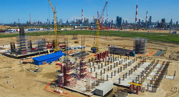 Газпром нефть строит на Омском НПЗ новый комплекс замедленного коксования для переработки тяжелого нефтяного сырья