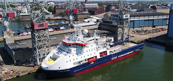 Sovcomflot expands fleet with new icebreaking standby vessel