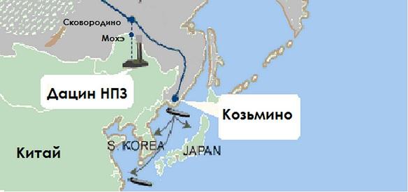 Сроки соблюдены! Китай достроил 2-ю нитку нефтепровода Мохэ - Дацин