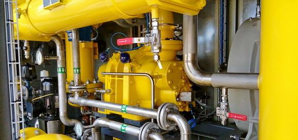 Началась предпусковая подготовка газокомпрессорной установки, предназначенной для испытательного стенда ОДК-УМПО