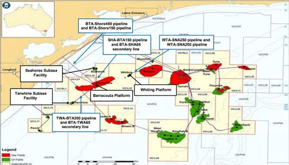 ExxonMobil makes final investment decision to develop West Barracouta gas project in Australia