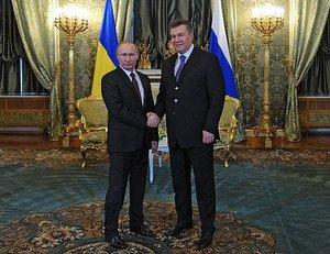 Встреча с Президентом Украины Виктором Януковичем