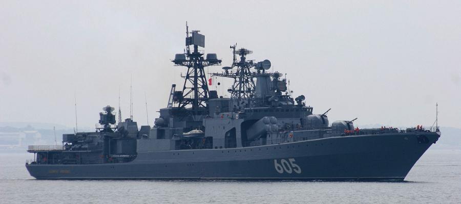 В Средиземном море прошли учения с участием судов «Вице-адмирал Кулаков» и «Академик Пашин»