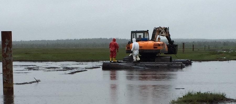 В Коми снова ЧП: произошел разлив нефти