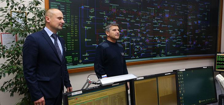 Гендиректор МРСК Центра И. Маковский ознакомился с функционированием электросетевого комплекса Брянской области