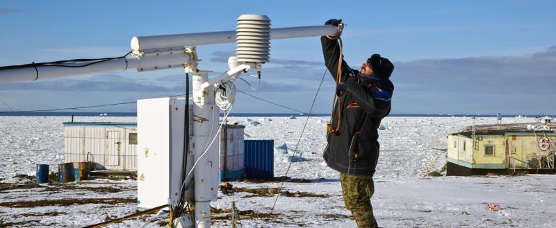 Арктика: обеспечение гидрометеорологической безопасности освоения