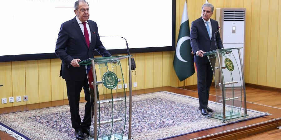 Russian foreign minister S.Lavrov: Russia has offered Pakistan LNG supplies