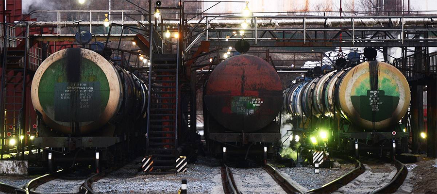 Россия в июле 2019 г. увеличила экспорт нефти до 22,7 млн т