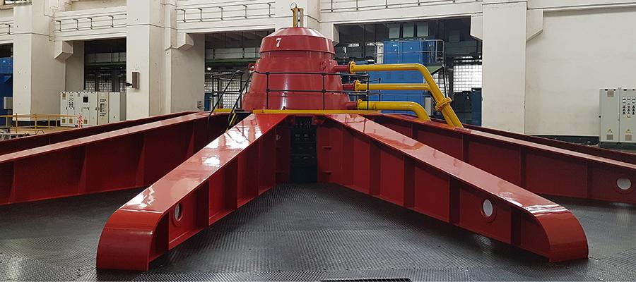 Энергетики Волжской ГЭС модернизировали уже 2-й в 2019 г. гидроагрегат