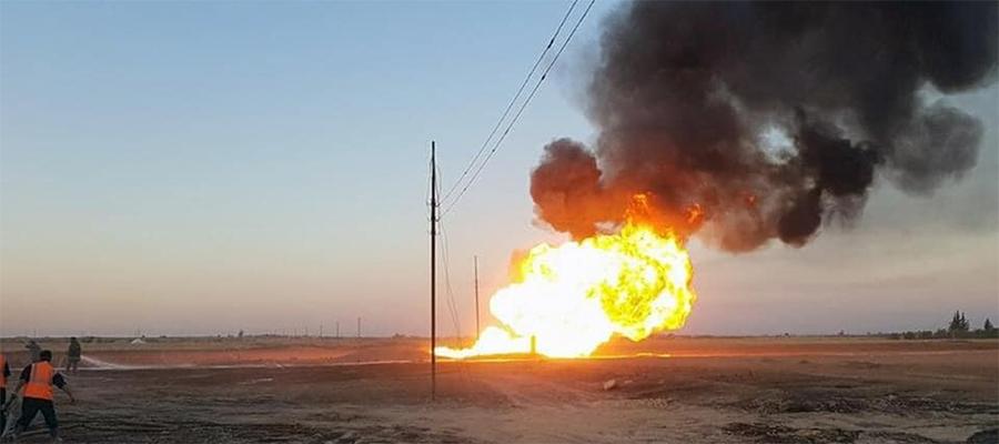 На Арабском газопроводе в Сирии произошел очередной взрыв