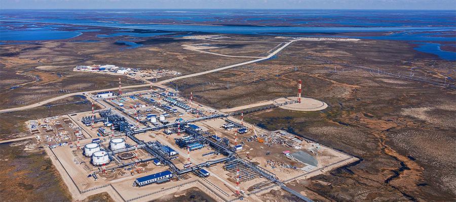 Газпром нефть начала добычу нефти из нефтяной оторочки Тазовского НГКМ