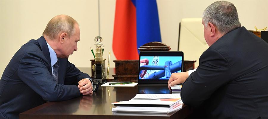 Премиальная нефть заказника на Таймыре, возвращение на Кару и сложности Сахалина. В. Путин вновь встретился с главой Роснефти