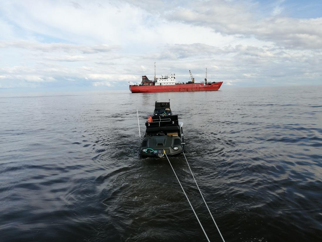 Сейсморазведка в Арктике. Выявление и трассирование предполагаемых тектонических нарушений в слабоизученном регионе Арктической территории севера Западной Сибири