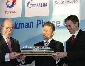 Штокман отодвинули на конец десятилетия