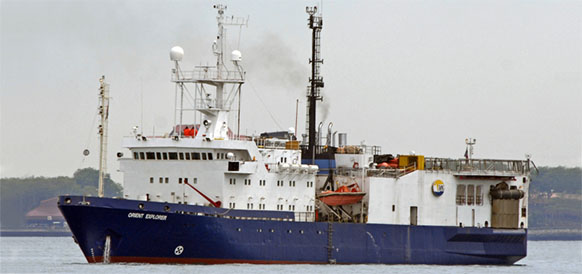 Росгеология завершила запланированные на 2017 г полевые работы на подводной окраине Восточной Камчатки