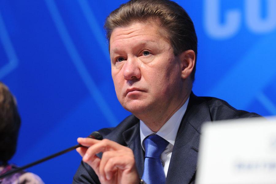 А.Миллер. Газпром не будет работать с Украиной через посредников