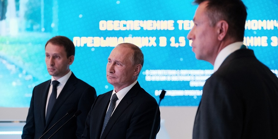 SIBUR presents Amur Gas Chemical Complex to Russia's President