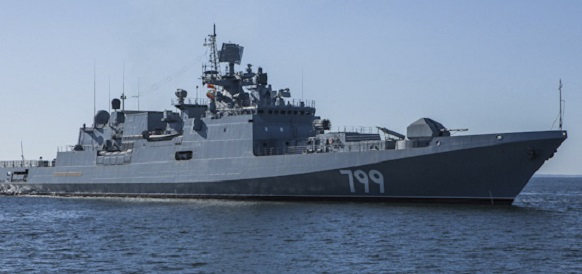 Расчеты ПВО фрегата Черноморского флота «Адмирал Макаров» отработали отражение авиаудара, но не это главное