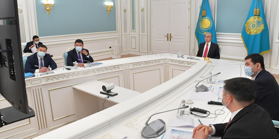 К-Ж. Токаев поручил ускорить полномасштабное освоение Кашагана и строительство на месторождении ГПЗ