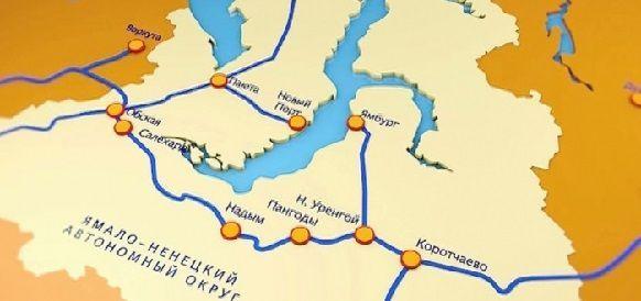 Губернатор ЯНАО Д. Артюхов на Форуме в г. Сочи напомнил о важности проекта Северного широтного хода и перспективах СШХ-2. Говорили и о Севморпути