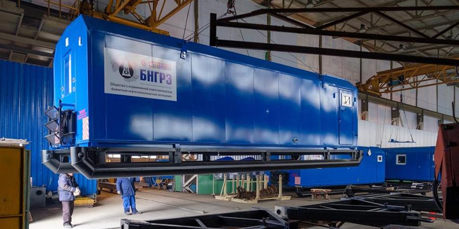 Ермак продолжает исполнение долгосрочного контракта на поставку вагон-домов