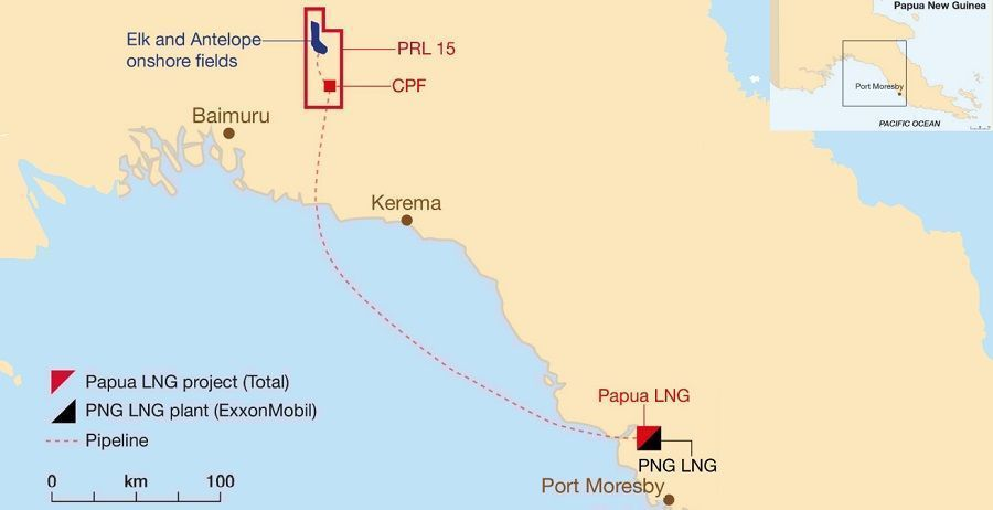 Total and the Government of Papua New  Guinea confirm the remobilization and the planning of the  Papua LNG project