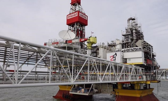 Lukoil continues construction of 2nd stage facilities at Korchagin field in Caspian Sea