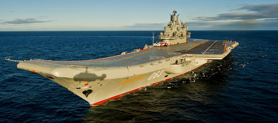 «Адмирала Кузнецова» отправили на допремонт