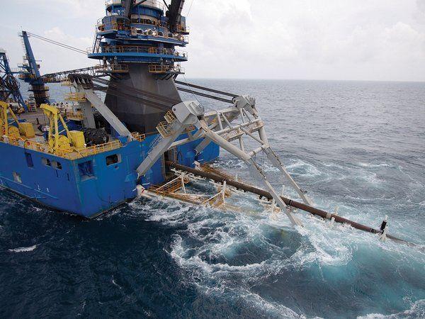 Эксплуатация и ремонт морских трубопроводов