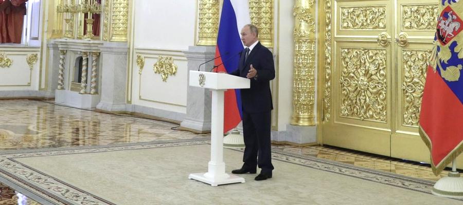 В. Путин: доля нефтегазовых доходов в доходах российского бюджета в 2021 г. должна снизиться до 1/3