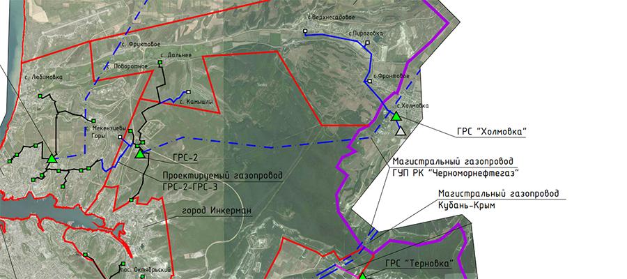 Новый газопровод обеспечит газоснабжение жителей с. Фронтовое в г. Севастополь