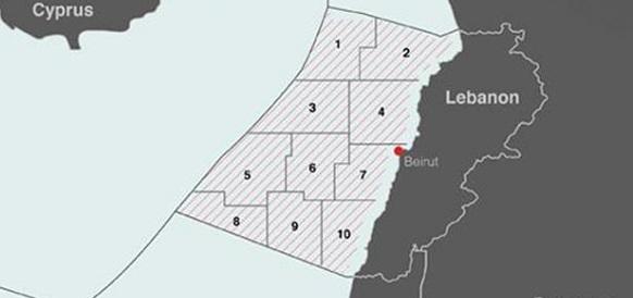 НОВАТЭК в консорциуме с Total и Eni получил право на разработку 2 нефтегазовых блоков на шельфе Ливана