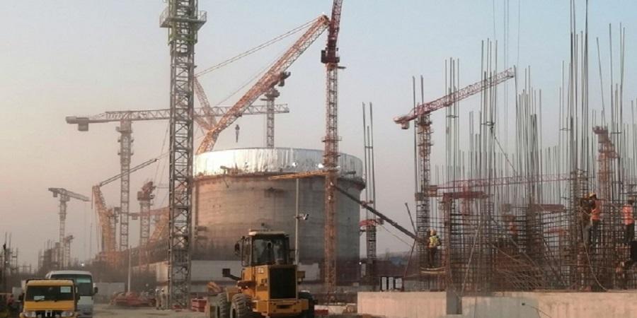 На АЭС Руппур завершено бетонирование цилиндрической части внутренней защитной оболочки первого энергоблока