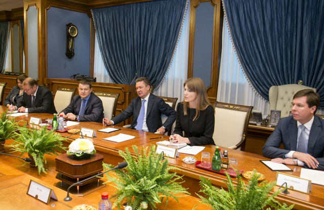 Gazprom looks at possible cooperation with major Chinese bank ICBC