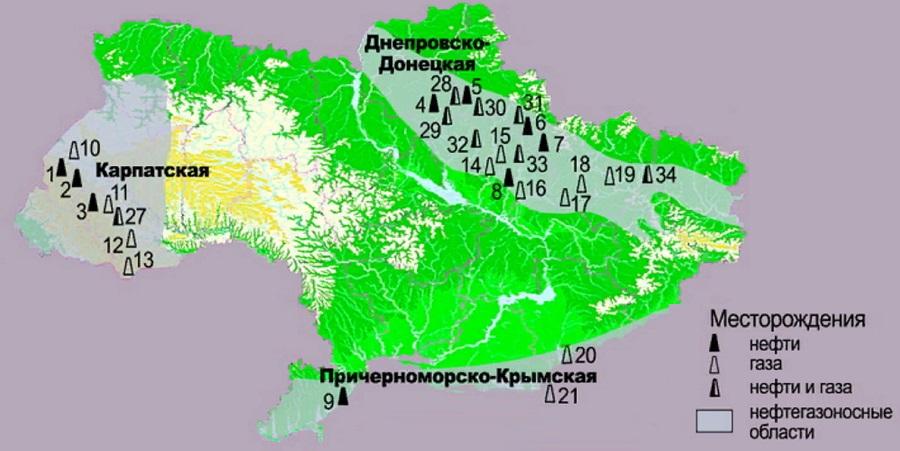 Добыча нефти на Украине. Перспективы роста