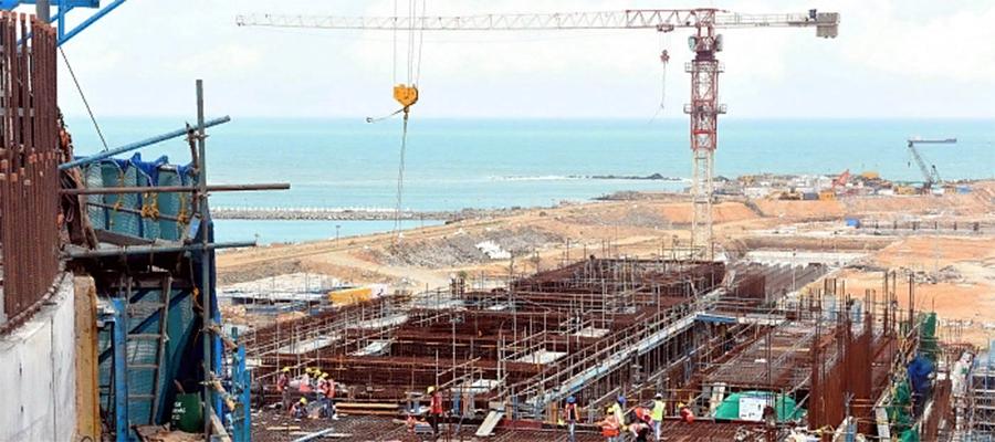 Судно с оборудованием для 3-го и 4-го энергоблоков АЭС Куданкулам вышло из порта г. Санкт-Петербург