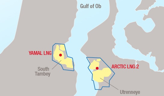 Russia: Total expands partnership with Novatek through Arctic LNG 2 project