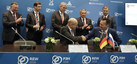 Siemens укрепляет связи с ТАИФ. Нижнекамскнефтехим получит кредит на электростанцию, которую строит Siemens