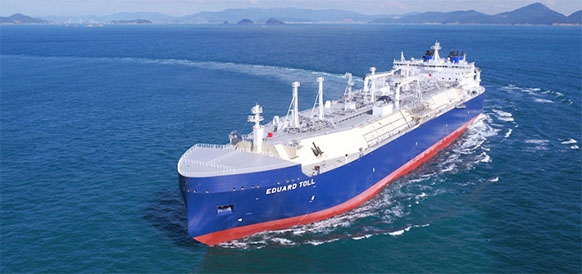 NOVATEK shipped 1st LNG cargos to China