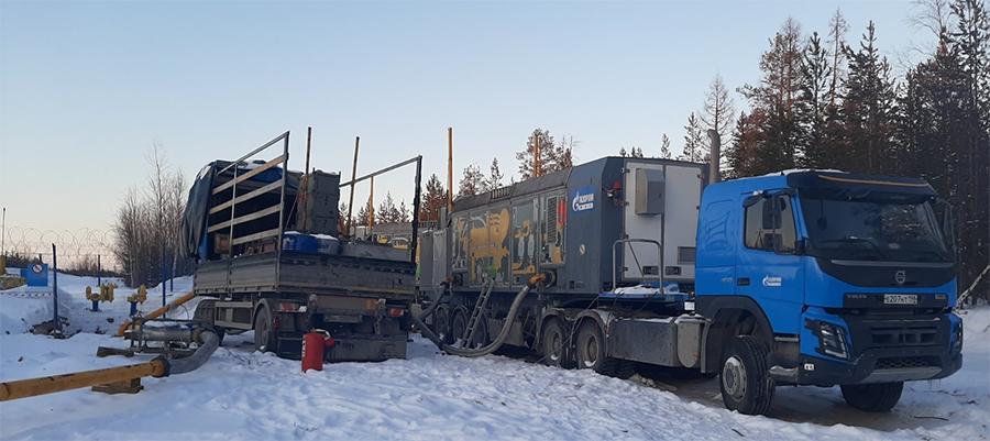 В Газпром трансгаз Сургут внедряются мобильные компрессорные установки