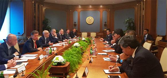 А. Миллер & Э. Моралес. Газпром и Боливия расширяют сотрудничество в нефтегазе