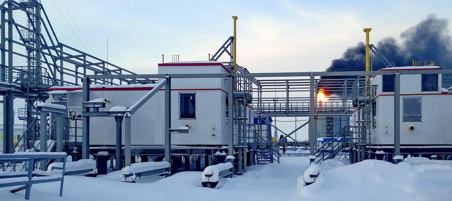На площадке УКПГиК Восточно-Уренгойского лицензионного участка введен в эксплуатацию модуль №2 установки подготовки топливного газа