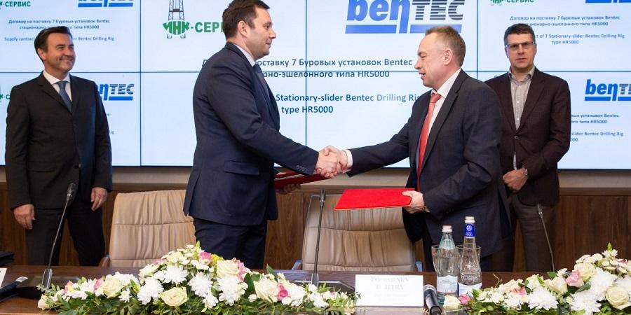 ИНК закупит добротные буровые установки HR5000 немецкой Bentec