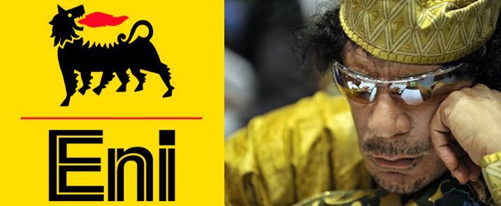 Eni обвиняет М.Каддафи в уничтожении крупнейшего нефтяного месторождения