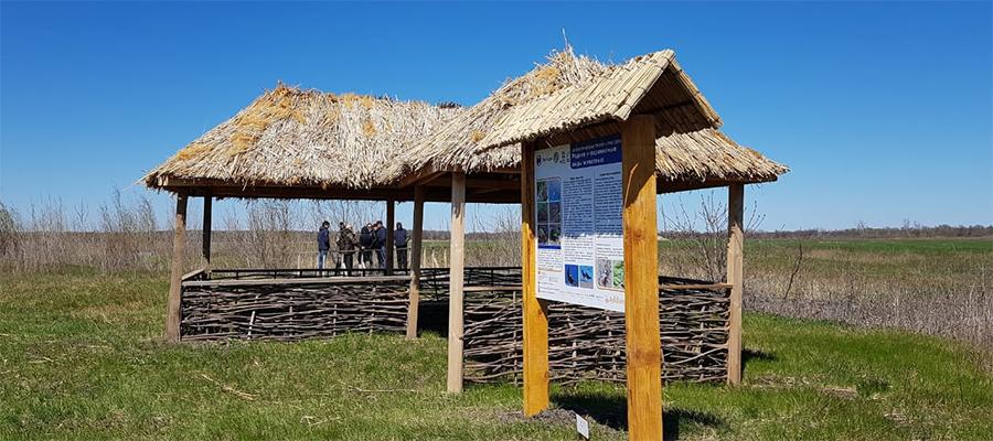 Волжская ГЭС помогла обустроить экологическую тропу в Волго-Ахтубинской пойме