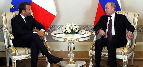 В. Путин на встрече с Э. Макроном обратил внимание на непредсказуемость и даже некоторую непорядочность Д. Трампа Голосовать!