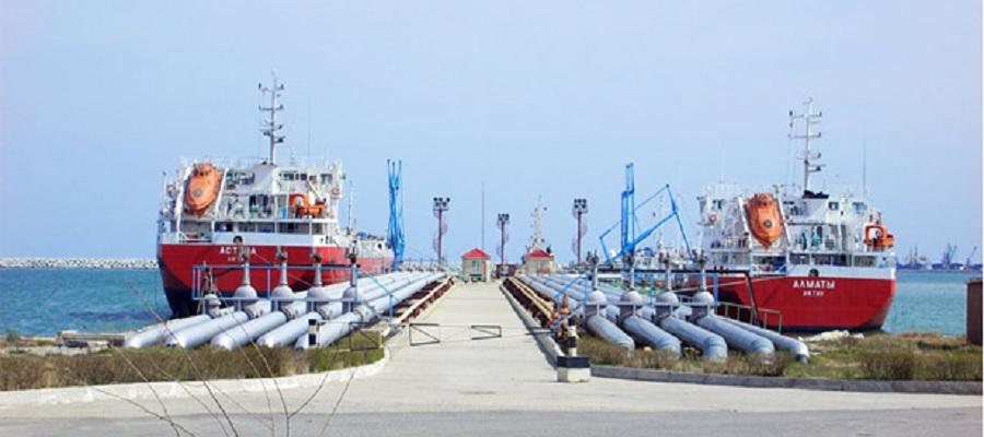 Порт Махачкалы возобновил перевалку нефтепродуктов из Туркменистана после перерыва в 5 лет