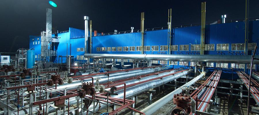 Предприятие Газпром добыча Ямбург пострадало от пожара
