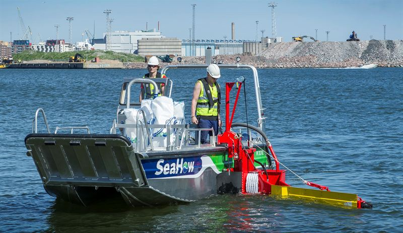 SeaHow launches new generation skimmer systems for coastal oil spill response